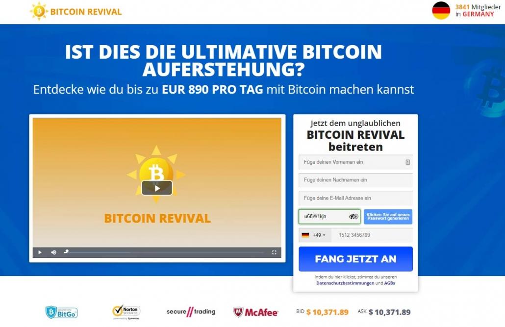 Bitcoin Revival Erfahrungen