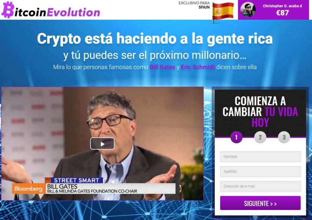 Bitcoin Evolution Opiniones