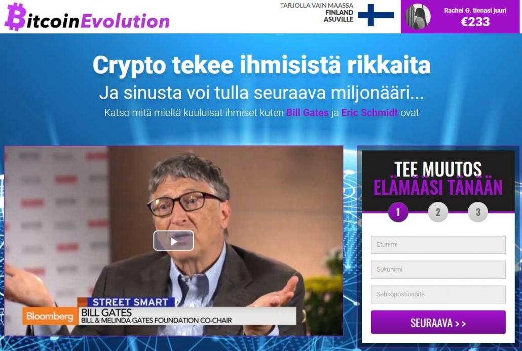 Bitcoin Evolution arvostelu