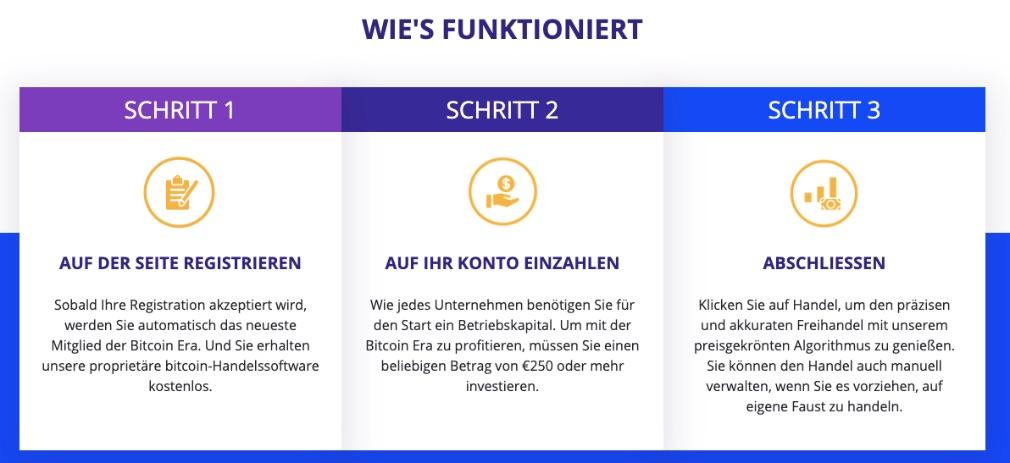 Bitcoin Era Wie funktioniert es