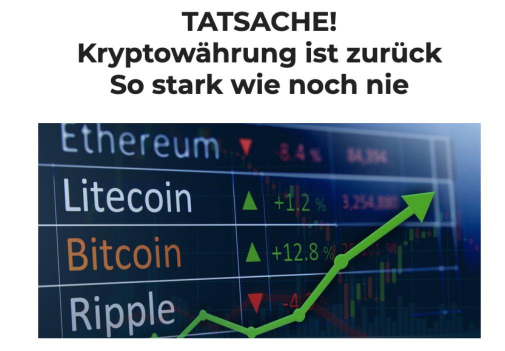 Crypto Comeback Pro Info