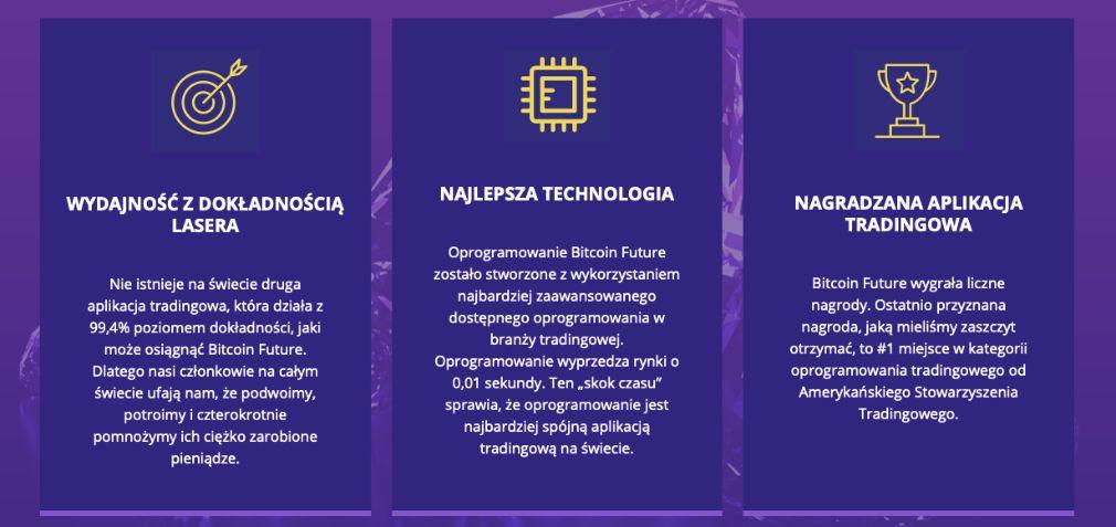 Bitcoin Future Zalety