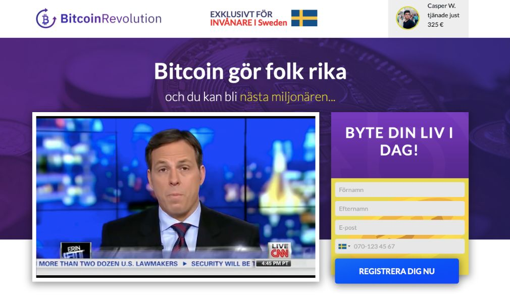 Bitcoin Revolution Omdöme