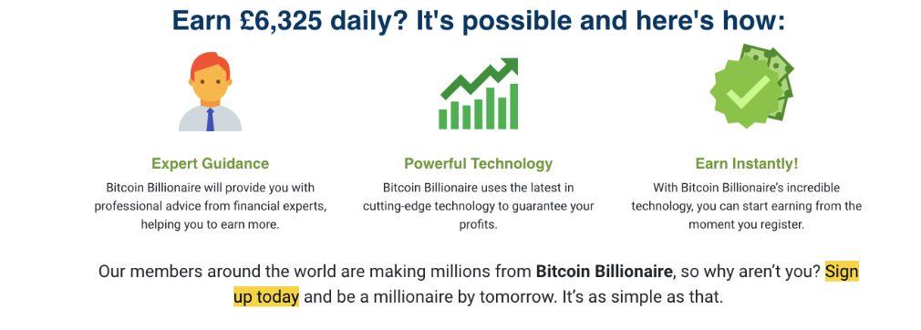 Bitcoin Billionaire suksess