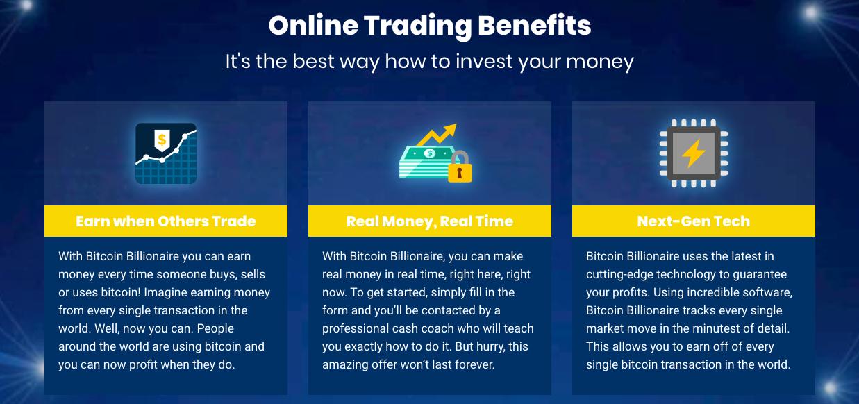 Bitcoin Billionaire fördel