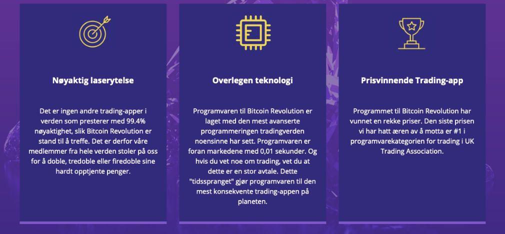 Bitcoin Revolution fordeler