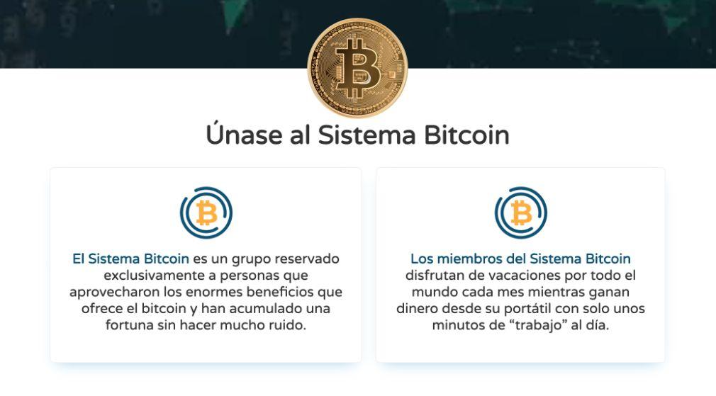 Bitcoin System Ventajas