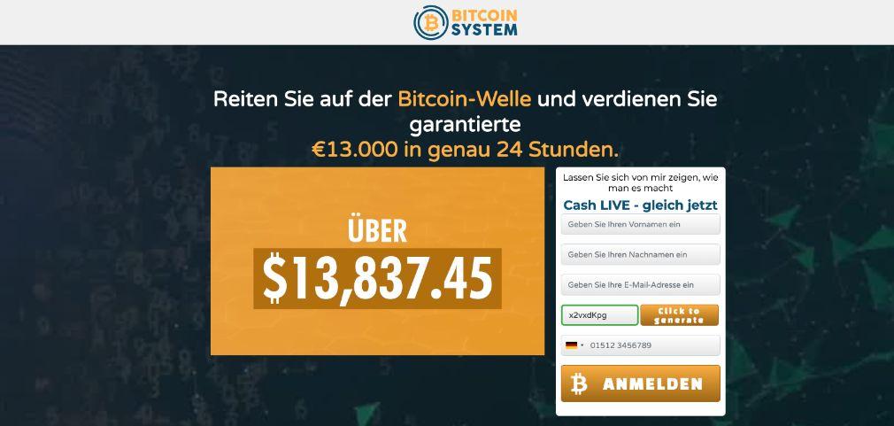 Bitcoin System Test Erfahrungen