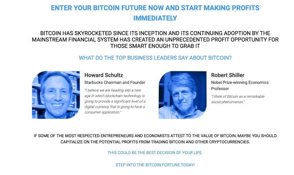 Bitcoin Fortune comment ça marche