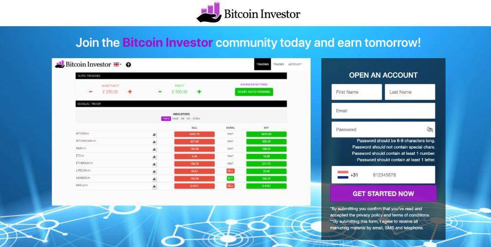 Bitcoin Investor ervaringen