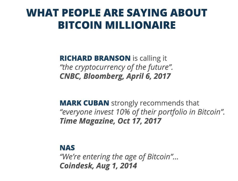 Bitcoin Millionaire Experten Meinungen