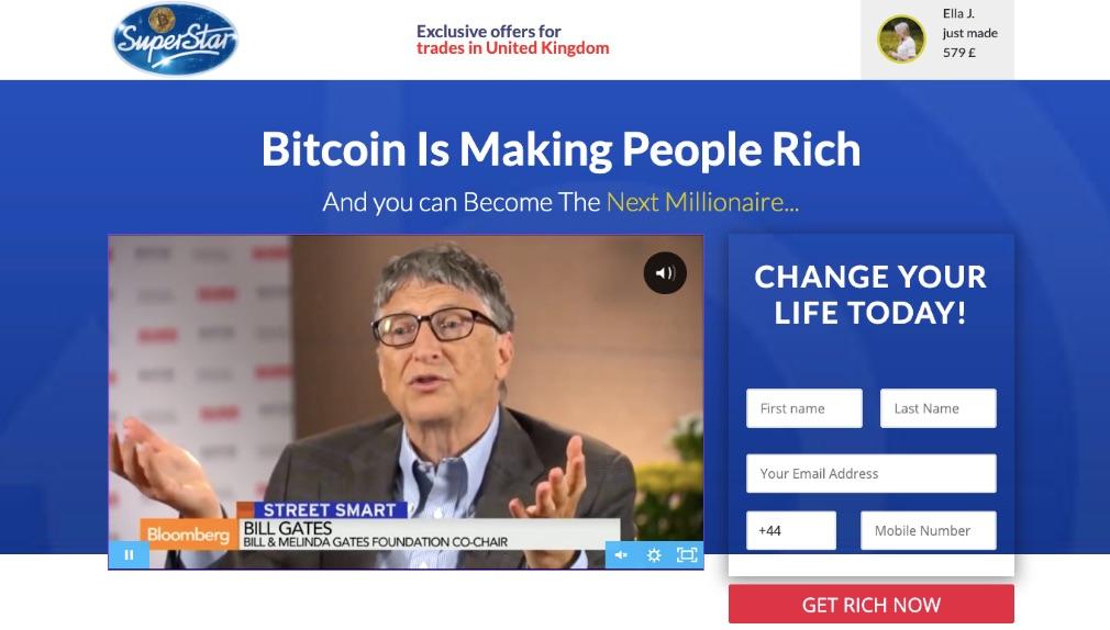 Bitcoin Superstar ervaringen