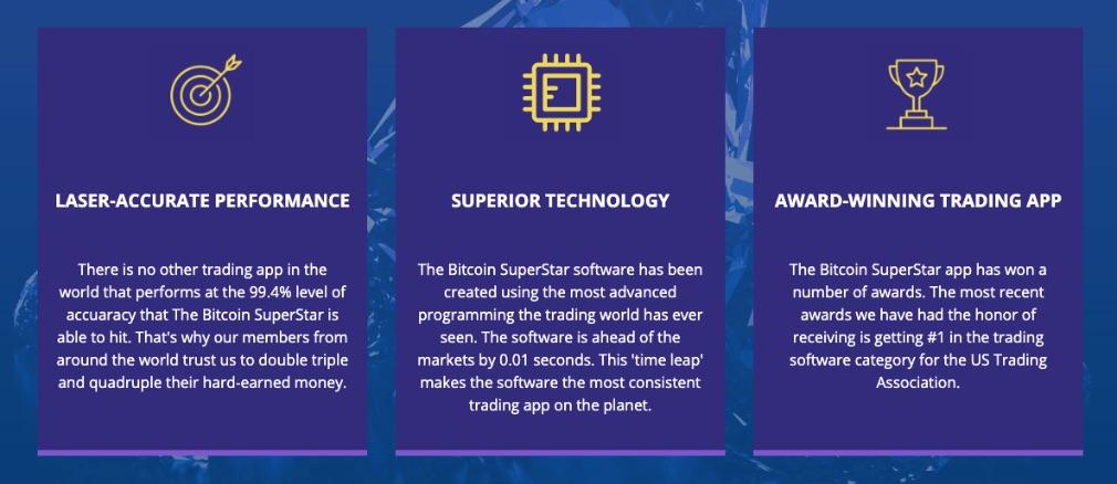 Bitcoin Superstar Voordelen