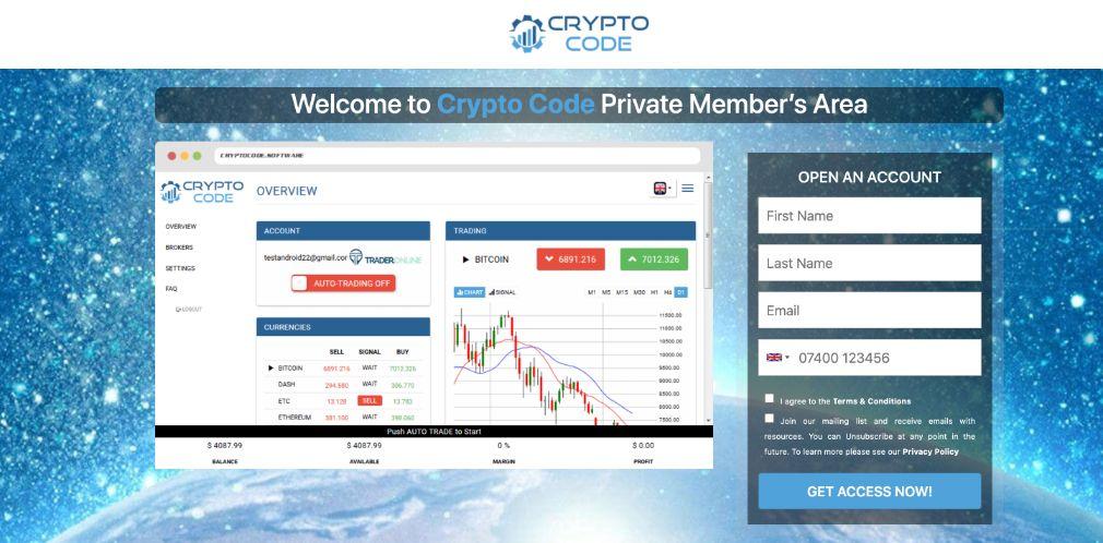 Crypto Code ervaringen