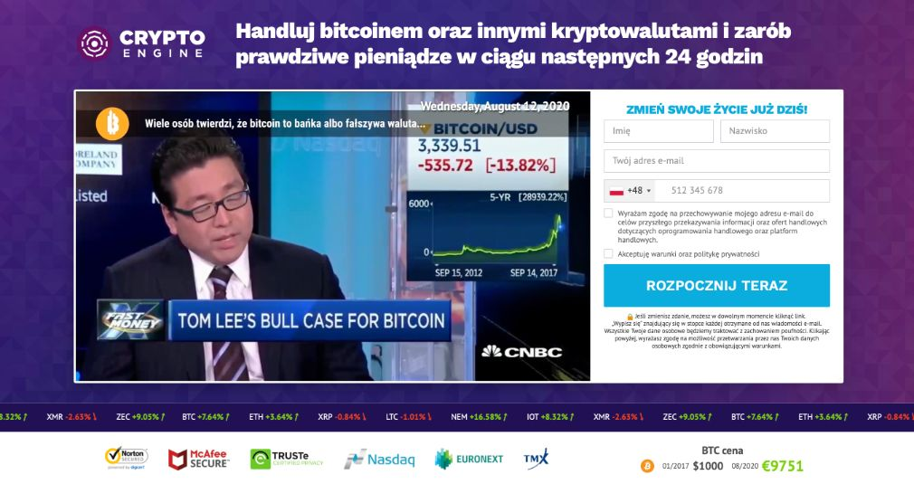 Crypto Engine opinie
