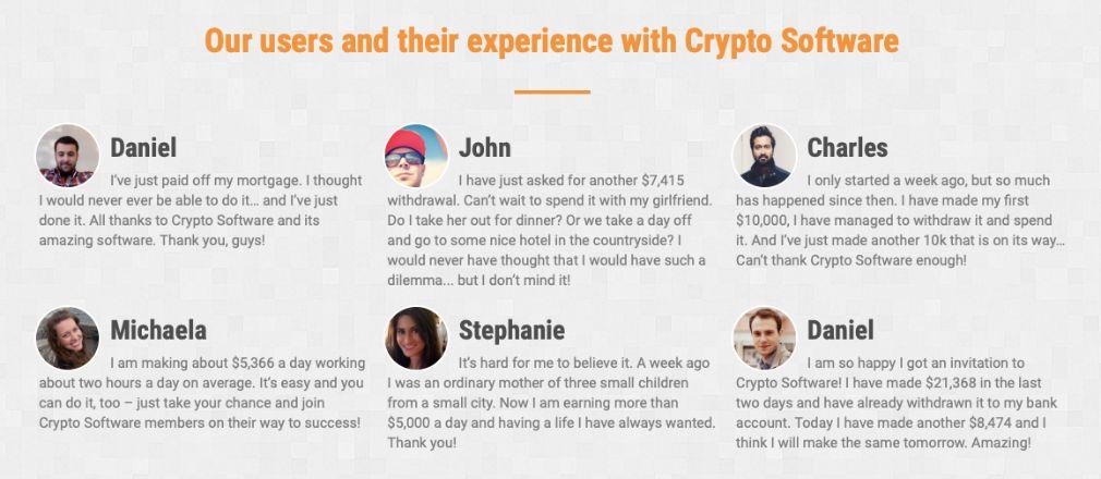 Cryptosoft suksess