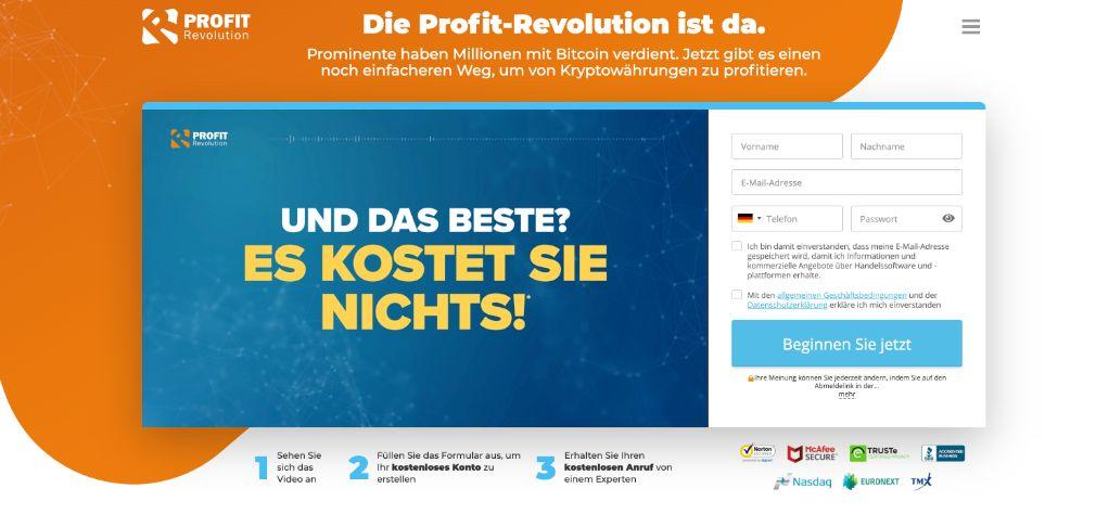 Profit Revolution Erfahrungen & Test