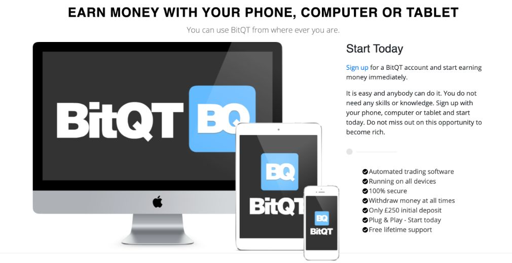 earn money with BitQT