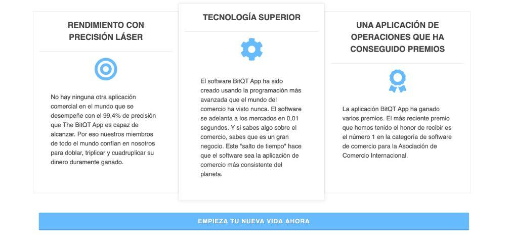 BitQT Ventajas