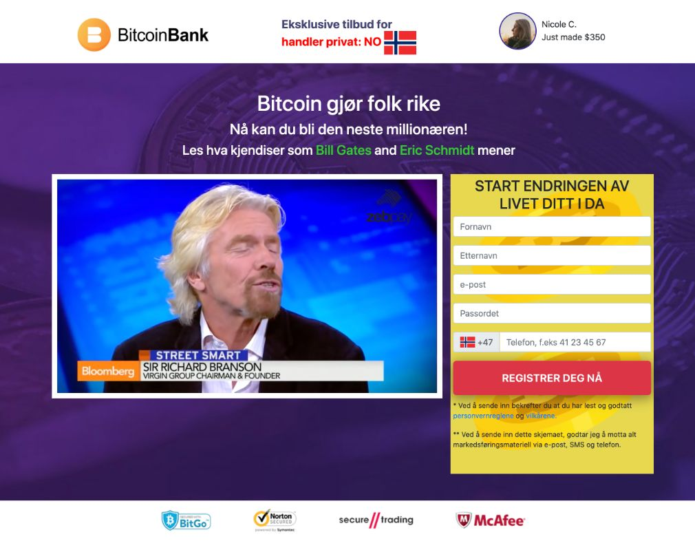 Crypto Bank Anmeldelse
