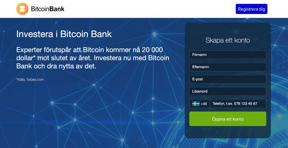 Crypto Bank Omdöme