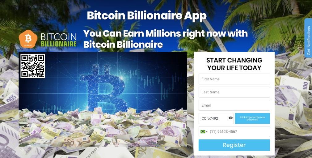 Bitcoin Billionaire é confiavel