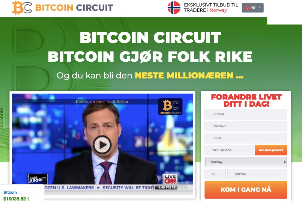 Bitcoin Circuit Anmeldelse