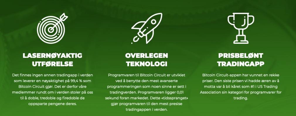 Bitcoin Circuit fordeler