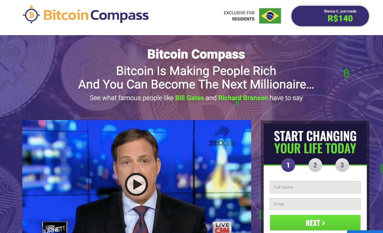 Bitcoin Compass é confiavel