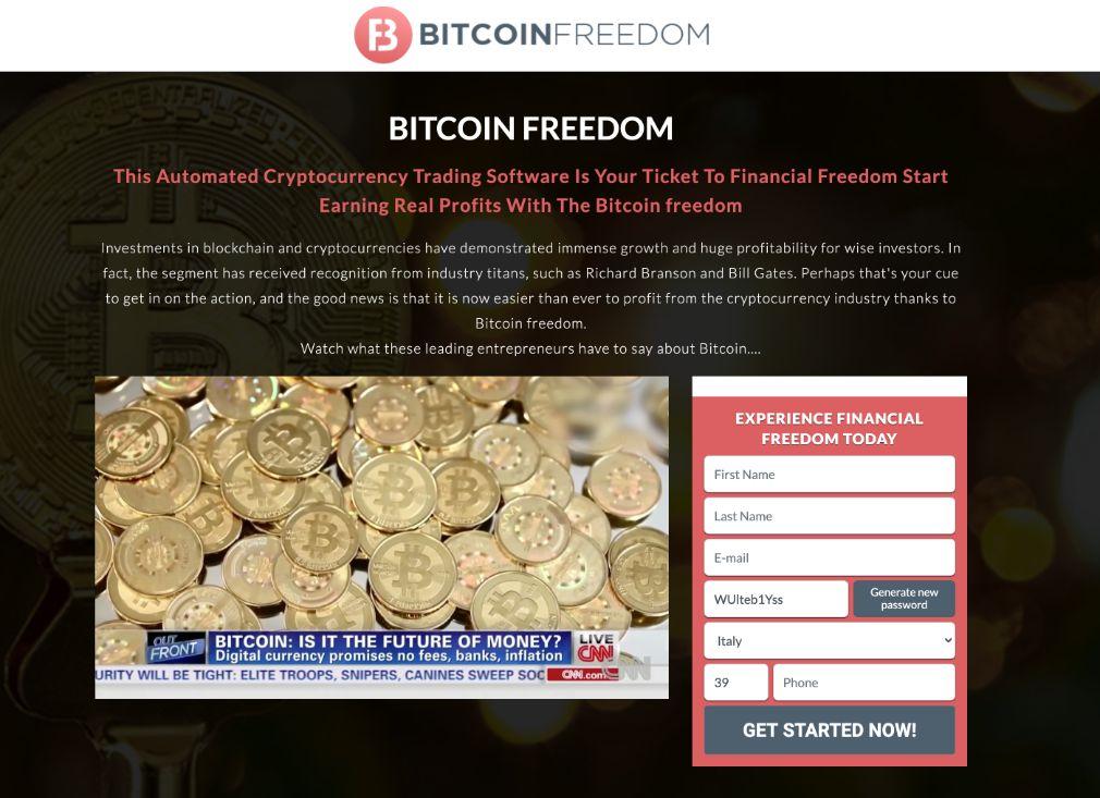 Bitcoin Freedom Recensioni