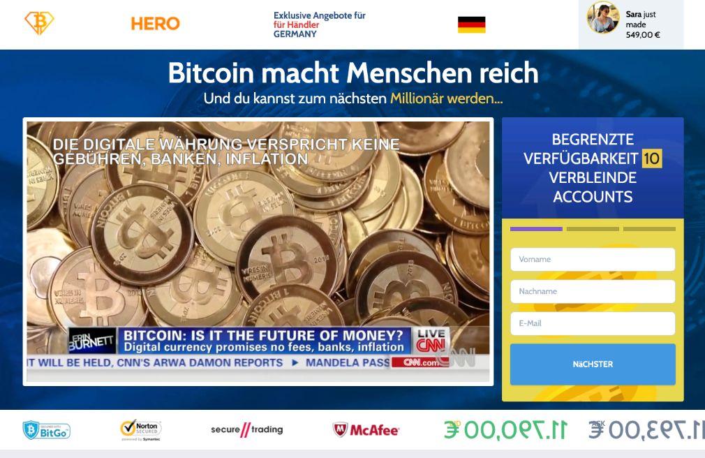 Bitcoin Hero Erfahrungen & Test