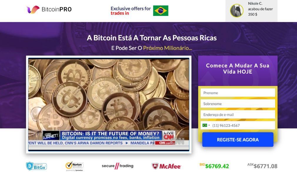 Bitcoin Pro é confiavel