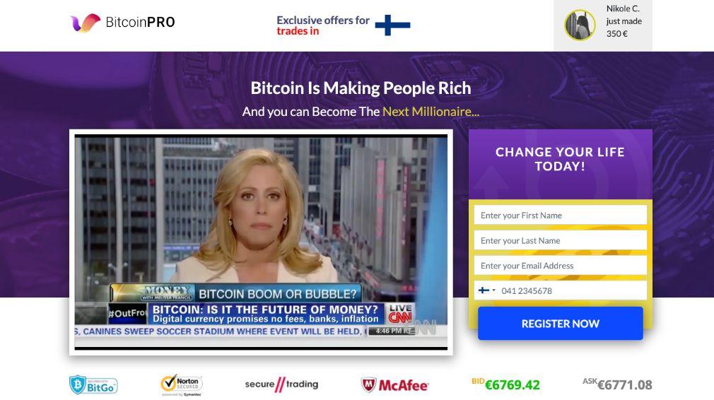 Bitcoin Pro arvostelu