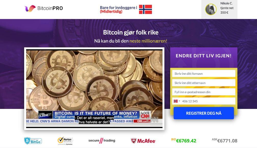 Bitcoin Pro Anmeldelse