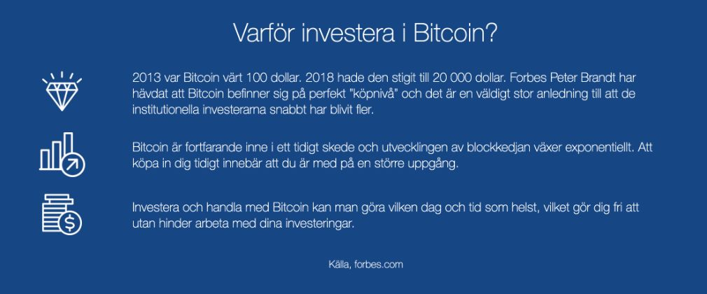 Bitcoin UP fördel