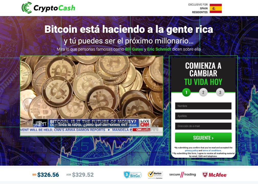 Crypto Cash opiniones