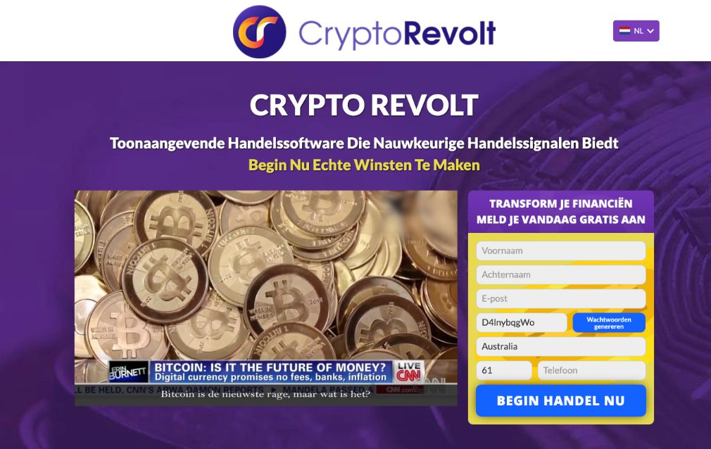 Crypto Revolt ervaringen