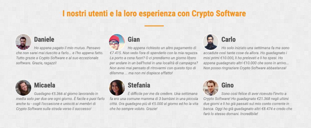 Cryptosoft successo