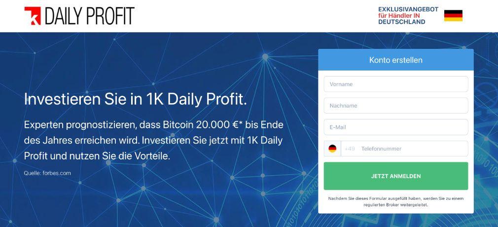 1k Daily Profit Test Erfahrungen