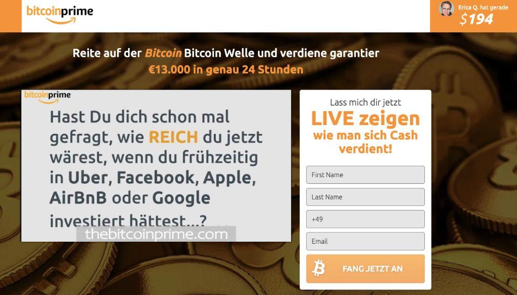 Bitcoin Prime Test Erfahrungen