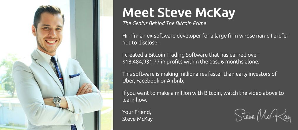Bitcoin Prime founder