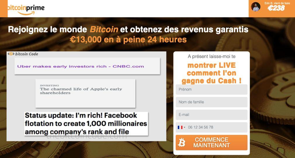 Bitcoin Prime avis