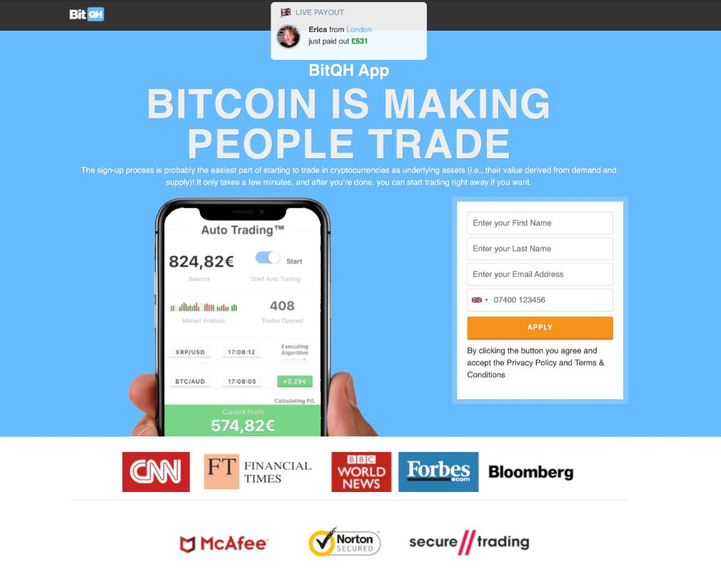 BitQH arvostelu