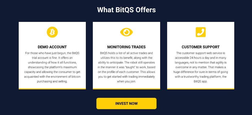 BitQS Voordelen