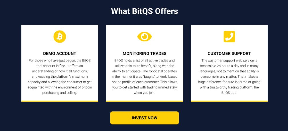 BitQS benefici