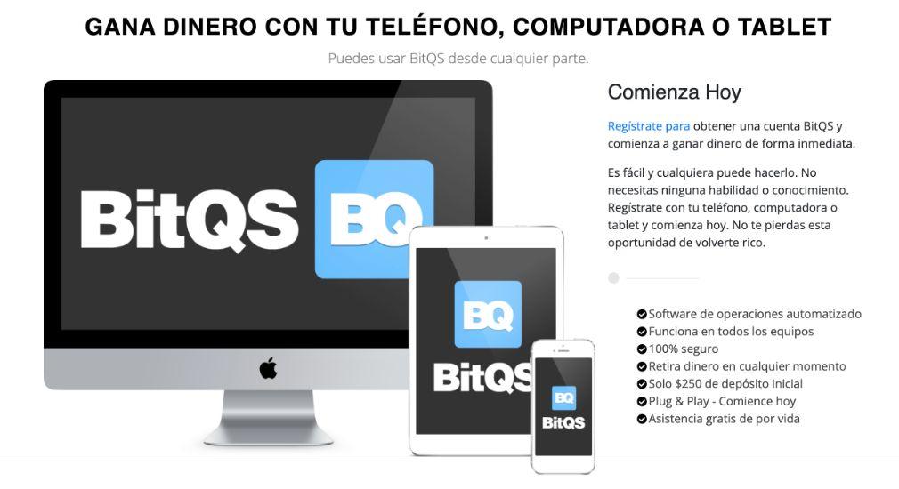 BitQS Ventajas