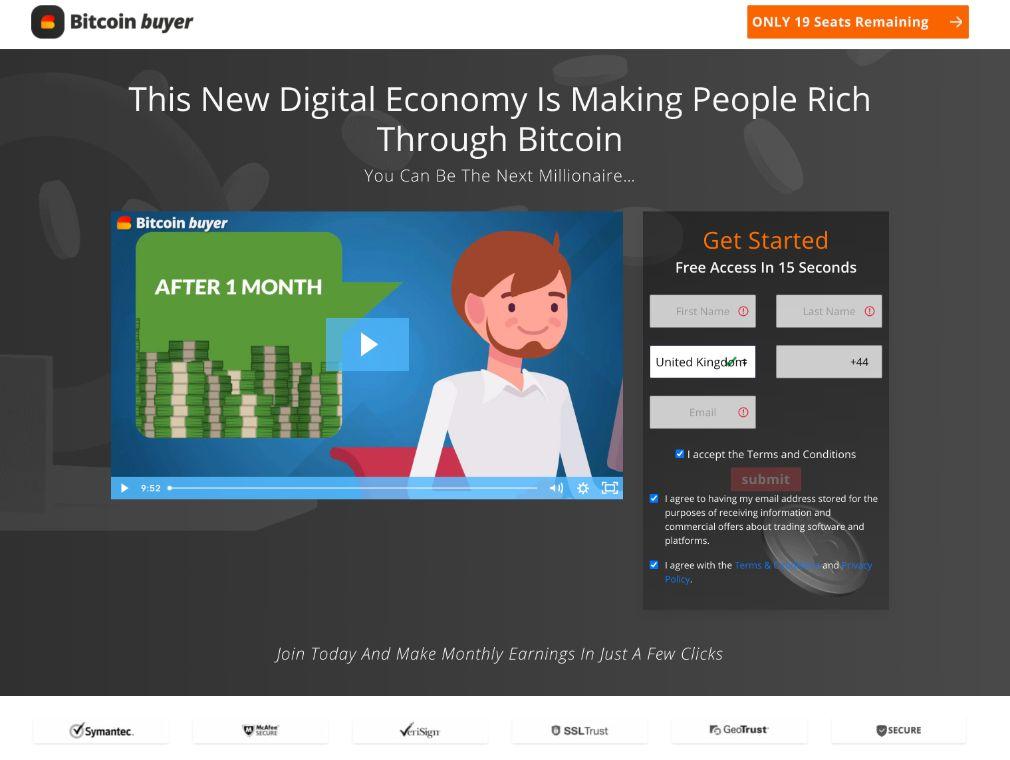 Bitcoin Buyer arvostelu
