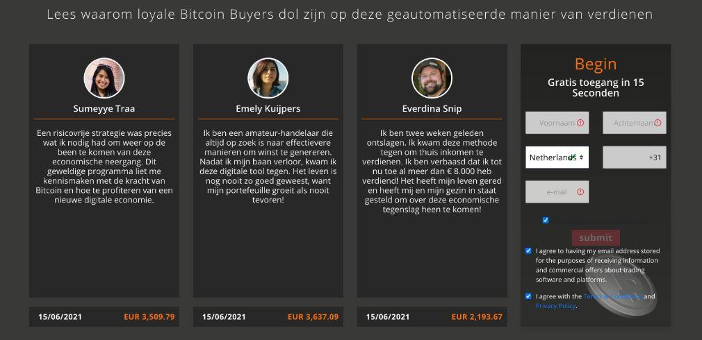 Bitcoin Buyer Gebruiker