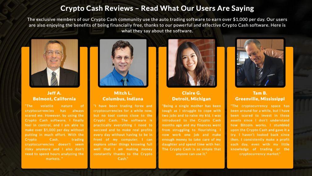 Crypto Cash user