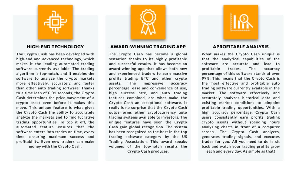 Features of the Crypto Cash